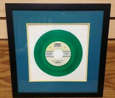 "1992 House of Pain SHAMROCKS and SHENANIGANS ~ Framed 7"" GREEN VINYL SUB POP"