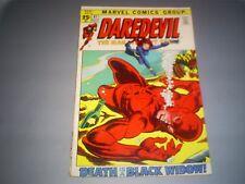 "DAREDEVIL # 81 (NOV 1971 MARVEL) 3.0 GD/VG ""DEATH IS A BLACK WIDOW!"""