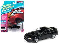 1999 Ford Mustang GT Black 1:64 Diecast Model - JLSP029-24B *