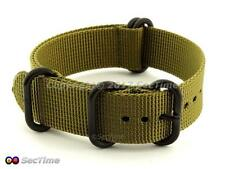NATO G10 Watch Straps Military Nylon Strong Heavy Duty PVD Buckle(4/5 rings)- MV