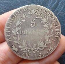 Napoléon Empereur - 5 Francs - An 13 M  Toulouse
