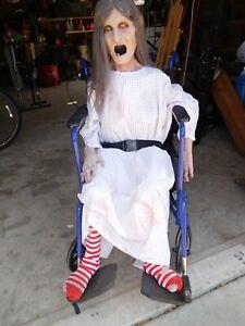 Wheel Chair Ghoul Motorized Halloween Prop