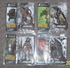 Mcfarlane Monsters Series 1 Bloody Variant Action Figure Set of 4 VHTF RARE