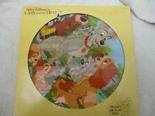 Walt Disney's Lady and The Tramp, Picture Disc LP