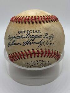 1948-50 Reach President William Harridge Official American League Baseball Ball