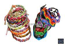 Lot 50 Mix Colorful Friendship Bracelets -Summer Festivals Party Bag -Stock UK