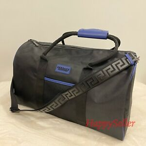 Versace Duffel Bag Weekender Travel Bag Luggage Holdall Travel NEW Carry-on NEW