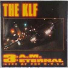 """THE KLF - 3AM ETERNAL. /EX.. 7""""  SINGLE.1991."""