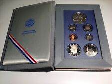 1986-S Prestige Us Proof set with Liberty Silver Dollar 7 coins BenLb/t
