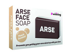 Peach Scented Arse Face Soap Bar