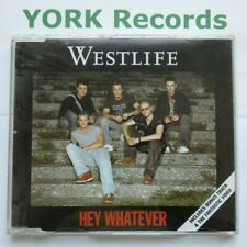 WESTLIFE - Hey Whatever - Excellent Condition CD Single RCA