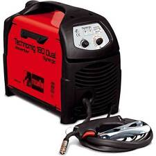 SALDATRICE TECHNOMIG 180 DUAL SYNERGIC 230V AD INVERTER MULTIF. FILO CONTINUO