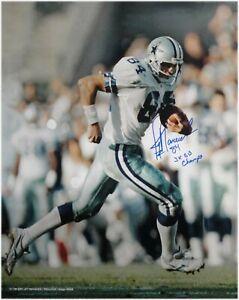 Jay Novacek Hand Signed Autographed 16x20  Photo  Cowboys 3x SB Champ Rght