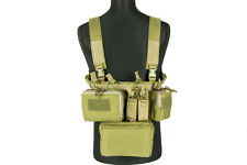 Tactical Chest Rig D3CR-H Heavy + Universal Pouch + FlatPack