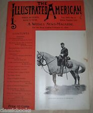 1895 Feb 9th Illustrated American Magazine   MUSEUM FILED  NM-