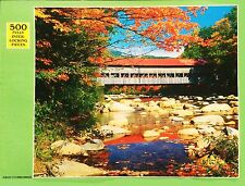 'Albany Covered Bridge' Rainbow Works 500 Piece Jigsaw Puzzle NEW