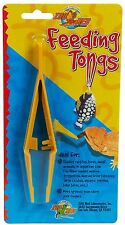 ZOO MED FEEDING TONGS WORKS FOR ALL ANIMALS FISH REPTILE SNAKES FREE SHIP TO USA