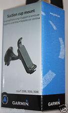 Garmin Car Suction Cup Windshield Mount & Cradle w/ Speaker for Nuvi 3590LMT GPS