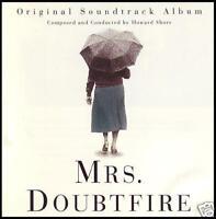 MRS DOUBTFIRE - SOUNDTRACK CD ~ HOWARD SHORE OST