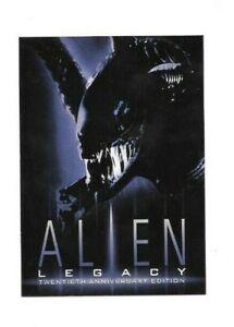 1998 ALIEN LEGACY 20TH ANNIVERSARY PREMIUM P1 PROMO CARD FREE SHIPPING