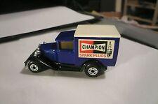 MATCHBOX  SUPERFAST MACAU 1979 CHAMPION SPARK PLUGS MODEL A FORD clean
