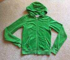 Juicy Couture Women's Ladies Sz S Green Hoodie Hooded Sweatshirt