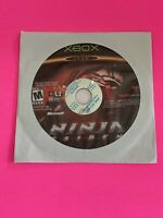 🔥 MICROSOFT XBOX - 💯 WORKING GAME DISC ONLY🔥NINJA GAIDEN