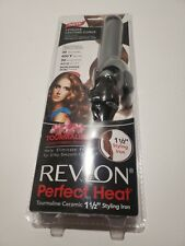 "Revlon Perfect Heat 1 1/2"" Tourmaline Ceramic Styling Iron"