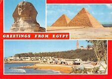 MIN0478 egypt giza sphinx keops kephren pyramid montaza beach alexandria