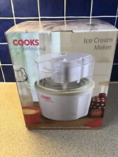 Cooks Professional 1.5L Ice Cream Maker Machine BNIB
