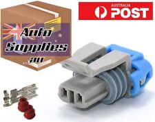 T56 Gearbox Reverse Lockout Solenoid 2 Pin Connector Plug LS1 LT1 GM Holden Tran