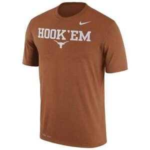 New University of Texas Longhorns men's 2XL t-shirt Nike Dri-Fit Hook 'Em Horns