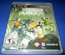 Young Justice: Legacy Sony PlayStation 3 (PS3) Factory Sealed! Free Shipping!