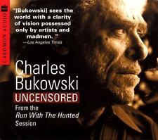 Charles Bukowski Uncensored : from the Run with the Hunted Session * New CD *