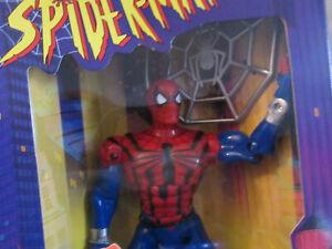 Spiderman Toybiz 10 Inch Deluxe Edition Sensational Spider-man Action Figure