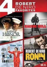 New! Robert DeNiro 4 Films: Raging Bull - King Comedy - Ronin Men Honor DVD Set