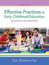 Effective Practices in Early Childhood Education: Building a Foundation, Video-E