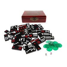 Chinese Dominoes Tile Set Pai Gow Paigow for Travel Casino Gambling Paly Toy