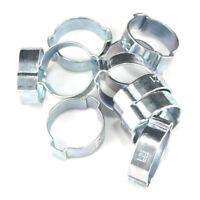 Colliers de serrage DIN 3017 Acier Inoxydable v2a Tuyau Bornes 9 mm 12 mm bande passante