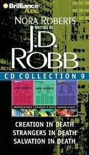 J.D. Robb CD Collection 9: Creation in Death/Strangers in Death/Salvation in Dea