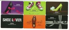 DSW Designer Shoe Warehouse Lot /6 Gift Cards No $ Value Collectible High Heels