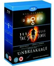 Mel Gibson 3 Pack Set: Signs/Sixth Sense/Unbreakable [Blu-Ray] [Region Free] New