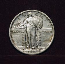 1917  Quarter , 25 c, ,Standing Liberty, USA -  aUNC