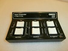 QED SDR 4 CHANNEL 2 TAPE 2 INPUT Switch unit commodore Amiga ZX Spectrum TI/99/T