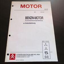Werkstatthandbuch Citroen Benzin Motor TU Instandsetzung 1997 z.B. Saxo ZX BX
