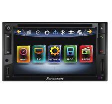 "FARENHEIT TI-652NB 6.5"" TOUCHSCREEN DVD CD MP3 BLUETOOTH USB IPOD CAR RECEIVER"