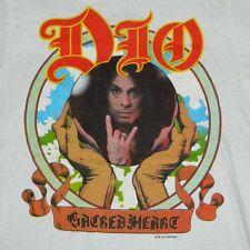 Vtg NOS DIO 1985 SACRED HEART TOUR T-SHIRT concert 80S DEAD STOCK black sabbath