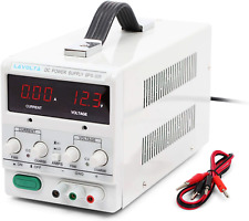 Lavolta Variable Linear DC Bench Power Supply 0-30V 0-5A - Regulated Adjustable