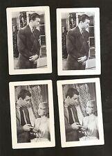MGM Movie Card lot 1940-41~4 cards~JAMES/JIMMY STEWART & LANA TURNER ~ NM-MINT