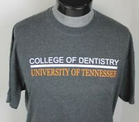 UNIVERSITY OF TENNESSEE VOLUNTEERS COLLEGE OF DENTISTRY T-SHIRT MENS SIZE L NCAA